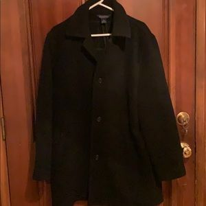 Brooks Brothers 💯 Wool Top Coat Size Large